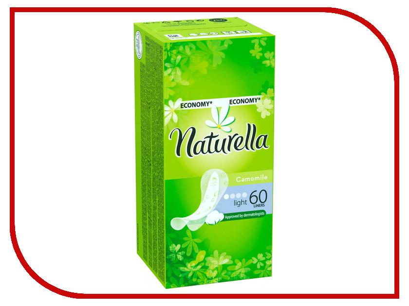 Naturella Ежедневные Camomile Light Trio NT-83731074 60шт