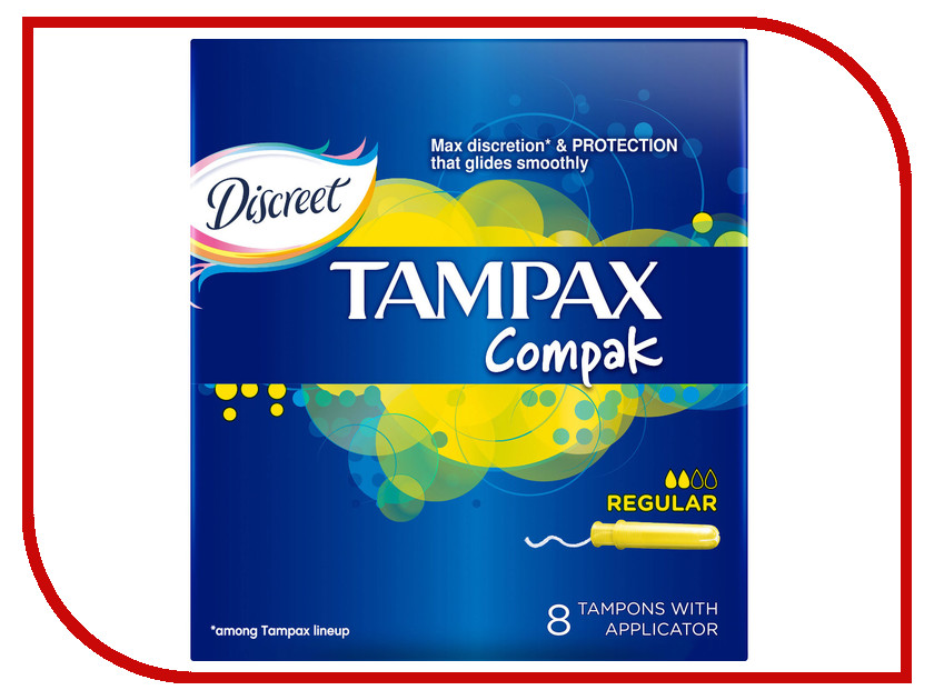 Tampax Compak Regular Single TM-83725530 8шт