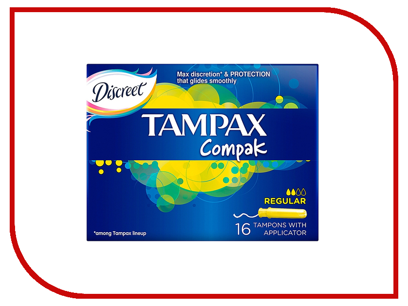 Tampax Compak Regular Duo TM-83730738 16шт парка regular regular re042ewndr59