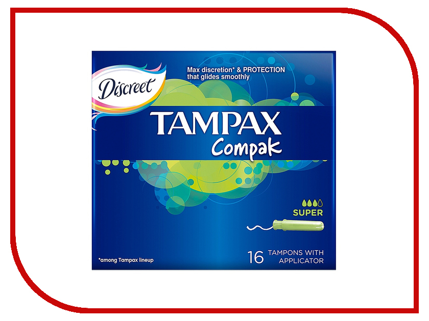 Tampax Compak Super Duo TM-83730736 16шт