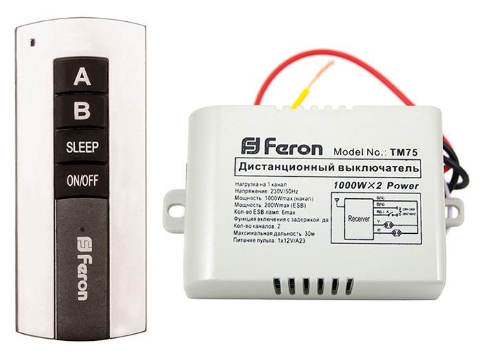 Выключатель Feron TM75 23344