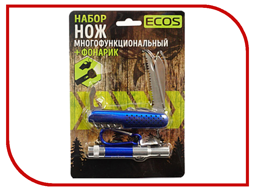 Нож Ecos Light Blue 325127