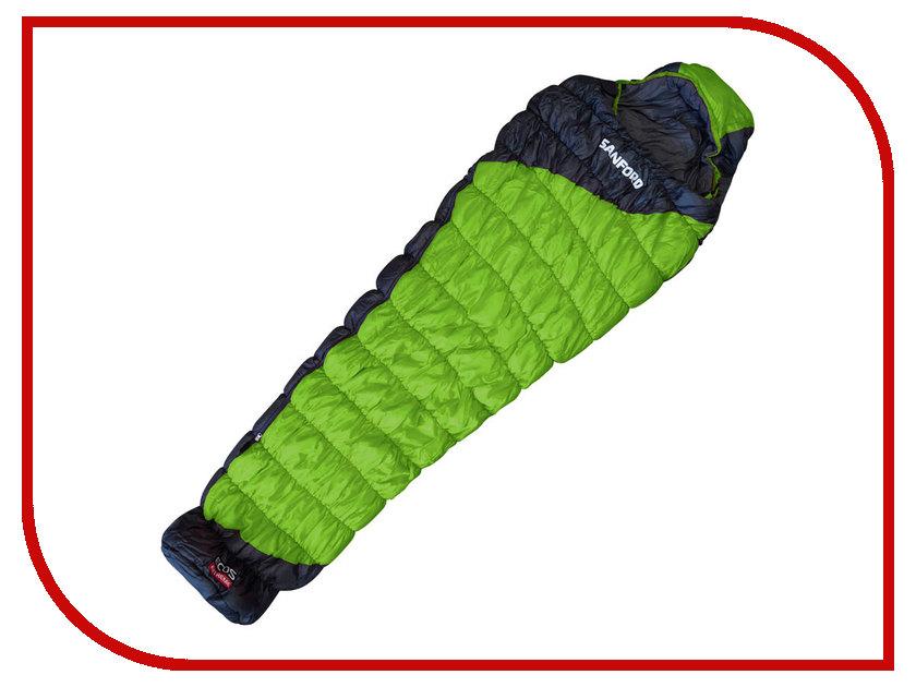 Cпальный мешок Ecos Sanford Green 998173 cпальный мешок trimm viper 185 r green
