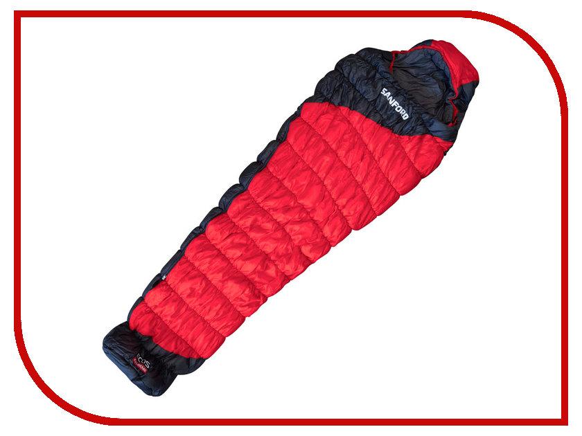 Cпальный мешок Ecos Sanford Red 998172 автохолодильник ecos ml13 20l