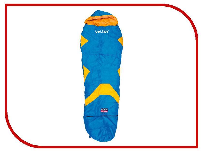 Cпальный мешок Ecos Valley Blue-Orange 998175 удилище ecos fs 39rod270