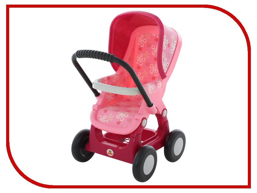 Коляска Полесье №2 прогулочная 48158 аксессуары для кукол dolu прогулочная коляска для кукол
