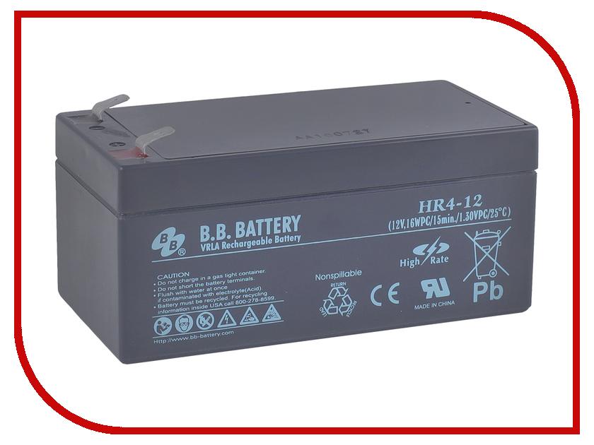 Аккумулятор для ИБП B.B.Battery HR 4-12