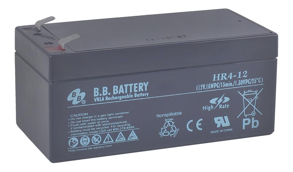 Аккумулятор для ИБП B.B.Battery HR 4-12 аккумулятор для ибп ventura gpl 12 120
