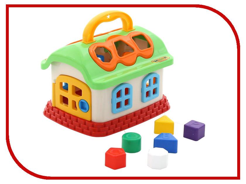 Сортер Полесье Сказочный домик 48745 домик из картона сказочный замок картонный папа
