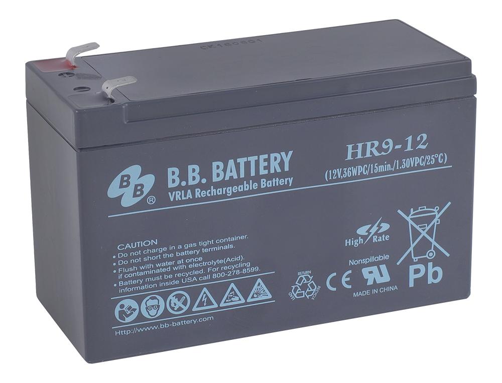 Аккумулятор для ИБП B.B.Battery HR 9-12 аккумулятор для ибп ventura gpl 12 120