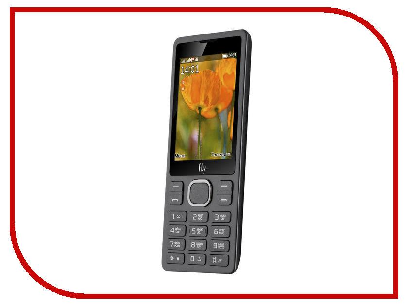 Сотовый телефон Fly FF282 Black мобильный телефон fly ff178 32mb black