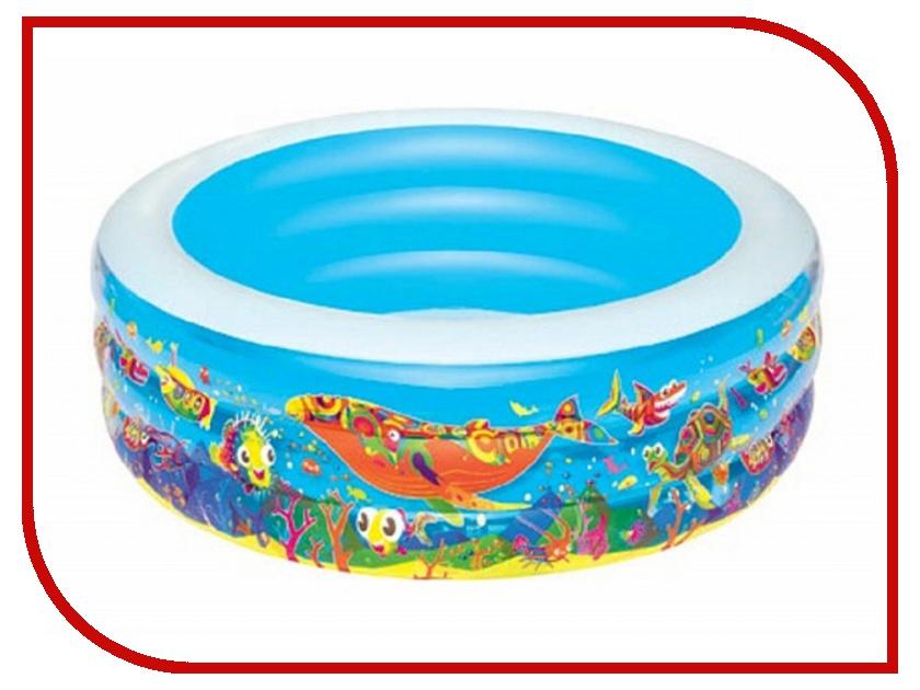 Детский бассейн BestWay Подводный мир 51123 бассейн детский круглый подводный мир 196х53см 700л bestway