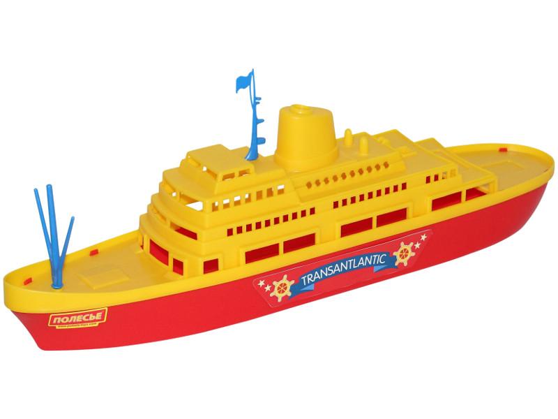 Игрушка Полесье Корабль Трансатлантик 56382 игрушка полесье корабль чайка 36964