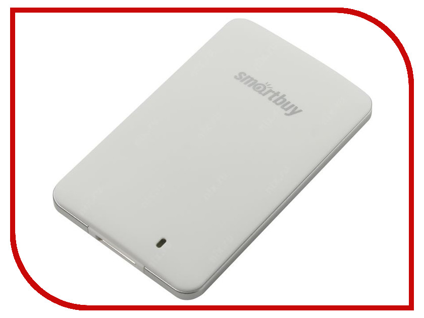 Жесткий диск Smartbuy S3 256Gb USB 3.0 White SB256GB-S3DW-18SU30