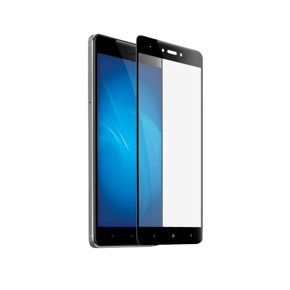 Закаленное стекло DF для Xiaomi Redmi Note 4X xiColor-10 Black