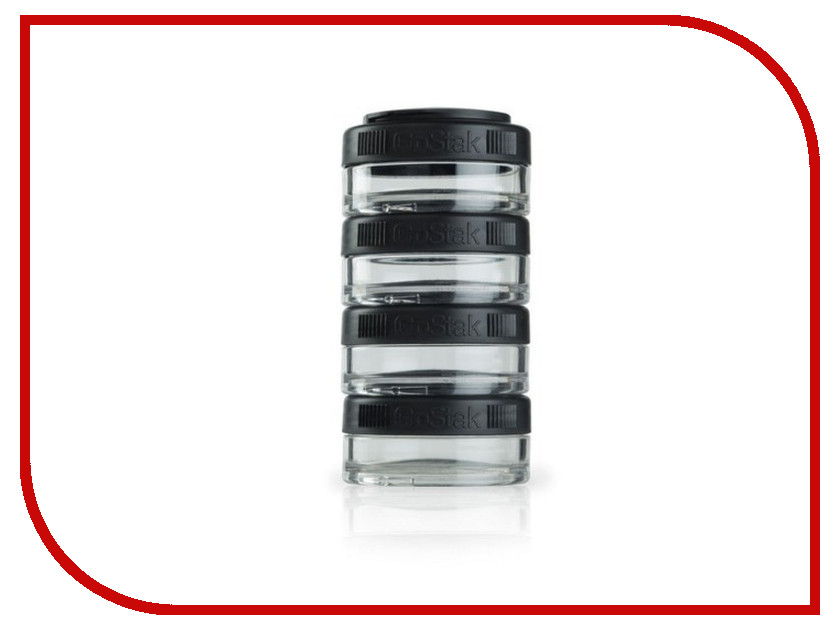 Набор контейнеров BlenderBottle GoStak 40ml Black BB-GS40-BLCK bb gs40 oran