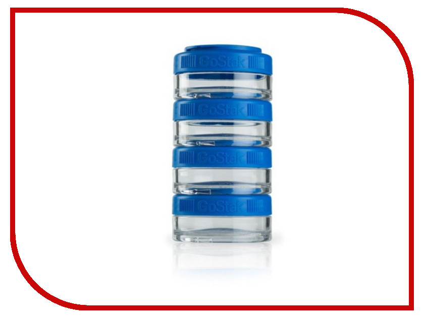 все цены на Набор контейнеров BlenderBottle GoStak 40ml Blue BB-GS40-BLUE онлайн
