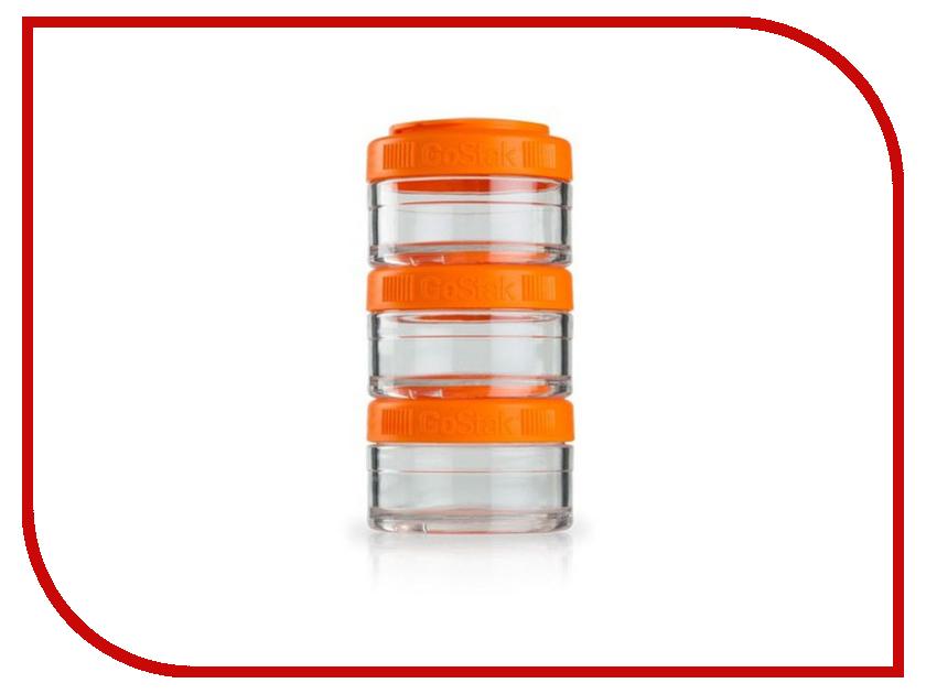 Набор контейнеров BlenderBottle GoStak 60ml Orange BB-GS60-ORAN bb gs40 oran