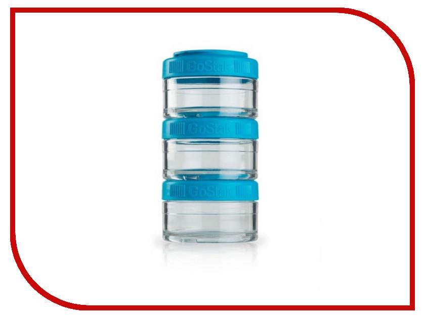 Набор контейнеров BlenderBottle GoStak 60ml Light Blue BB-GS60-AQUA от Pleer