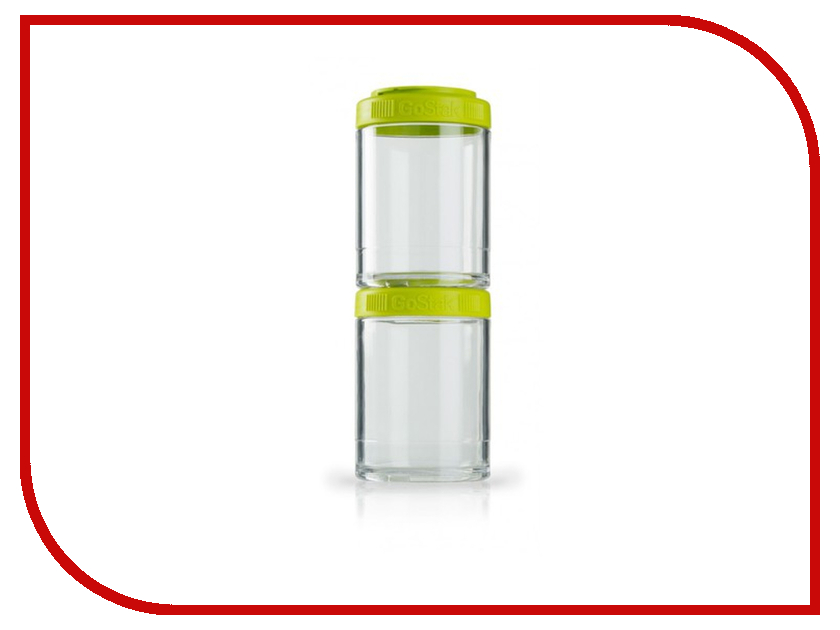 Набор контейнеров BlenderBottle GoStak 150ml Green BB-G150-GREE<br>