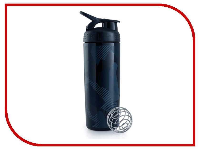 Шейкер BlenderBottle SportMixer Sleek 828ml Shattered Slate Pattern Black BB-SMSK-SHSL asher rebecca shattered