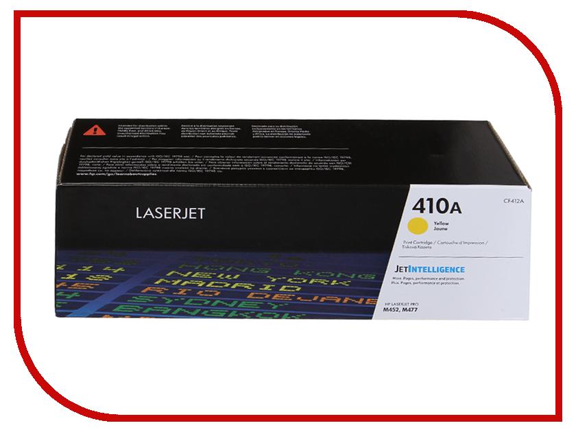 Картридж HP 410A CF412A Yellow для LaserJet принтер hewlett packard hp color laserjet cp5225 a3 ce710a