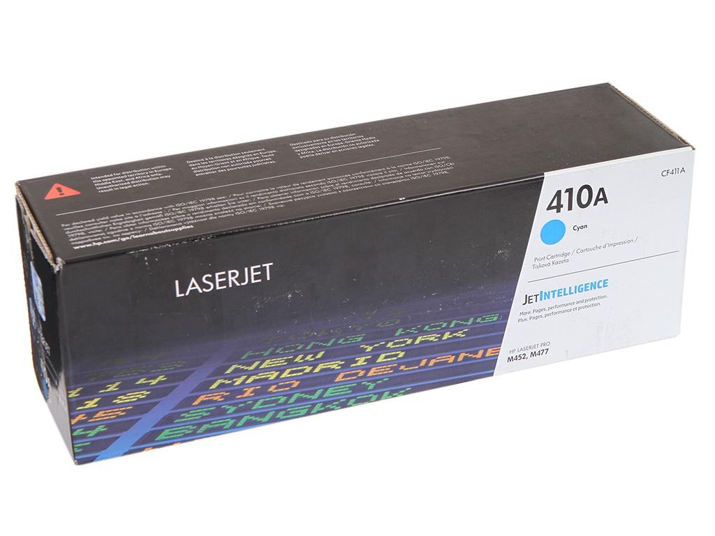 Картридж HP 410A CF411A Cyan для LaserJet