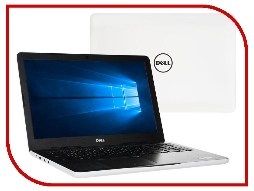 Ноутбук Dell Inspiron 5565 5565-8055 (AMD A6-9200 2.0 GHz/4096Mb/500Gb/DVD-RW/AMD Radeon R5 M435 2048Mb/Wi-Fi/Bluetooth/Cam/15.6/1366x768/Windows 10 64-bit) ноутбук hp 15 bw536ur 2gf36ea amd a6 9220 2 5 ghz 4096mb 500gb dvd rw amd radeon 520 2048mb wi fi cam 15 6 1366x768 windows 10 64 bit