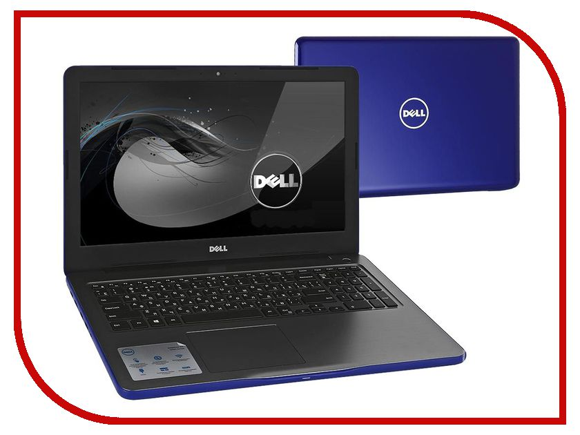 Ноутбук Dell Inspiron 5565 5565-8079 (AMD A6-9200 2.0 GHz/4096Mb/500Gb/DVD-RW/AMD Radeon R5 M435 2048Mb/Wi-Fi/Bluetooth/Cam/15.6/1366x768/Windows 10 64-bit) ноутбук hp 15 bw536ur 2gf36ea amd a6 9220 2 5 ghz 4096mb 500gb dvd rw amd radeon 520 2048mb wi fi cam 15 6 1366x768 windows 10 64 bit