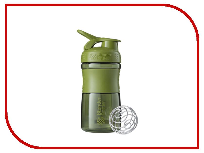 Шейкер BlenderBottle SportMixer 591ml Moss Green BB-SM20-MGRE шейкер blenderbottle pro45 full color 1330ml grey crimson bb pr45 fcgp