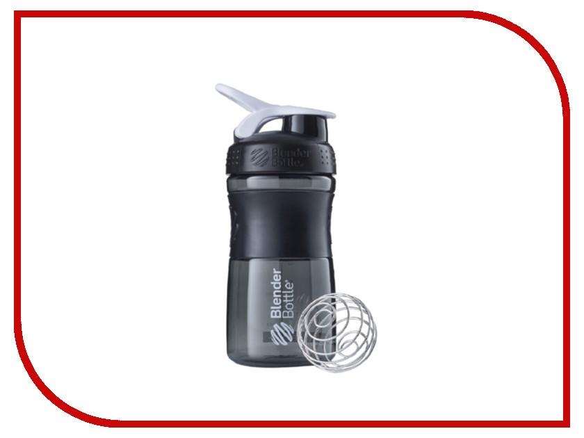 Шейкер BlenderBottle SportMixer 591ml Black-White BB-SM20-BWHI