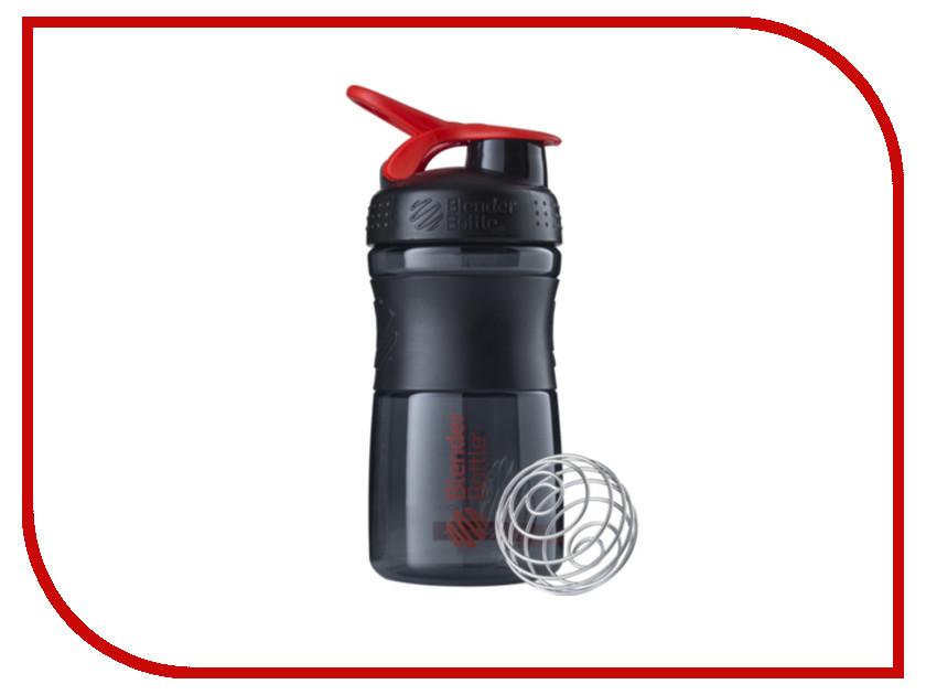 Шейкер BlenderBottle SportMixer 591ml Black-Red BB-SM20-BRED шейкер blenderbottle pro45 full color 1330ml grey crimson bb pr45 fcgp