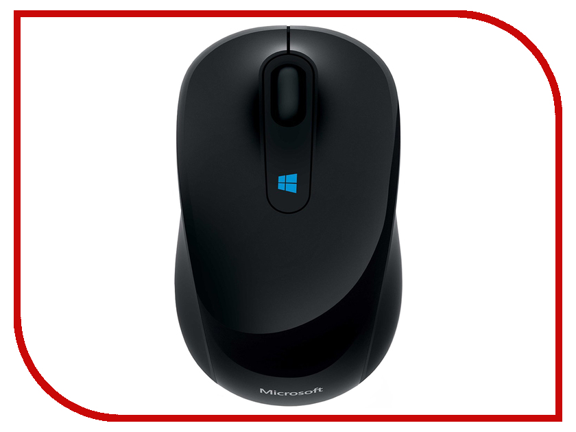 Мышь Microsoft Sculpt Black USB 43U-00004 microsoft sculpt mobile mouse black беспроводная мышь