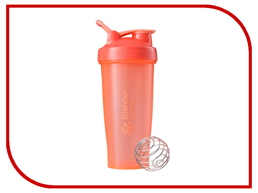 Шейкер BlenderBottle Classic Full Color 828ml Coral BB-CL28-FCOR