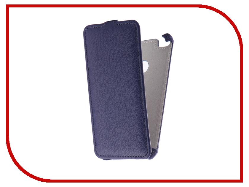 Аксессуар Чехол Huawei Honor 8 Lite Zibelino Classico Dark Blue ZCL-HUA-8LIT-DBL аксессуар чехол huawei nova zibelino classico white zcl hua nov wht