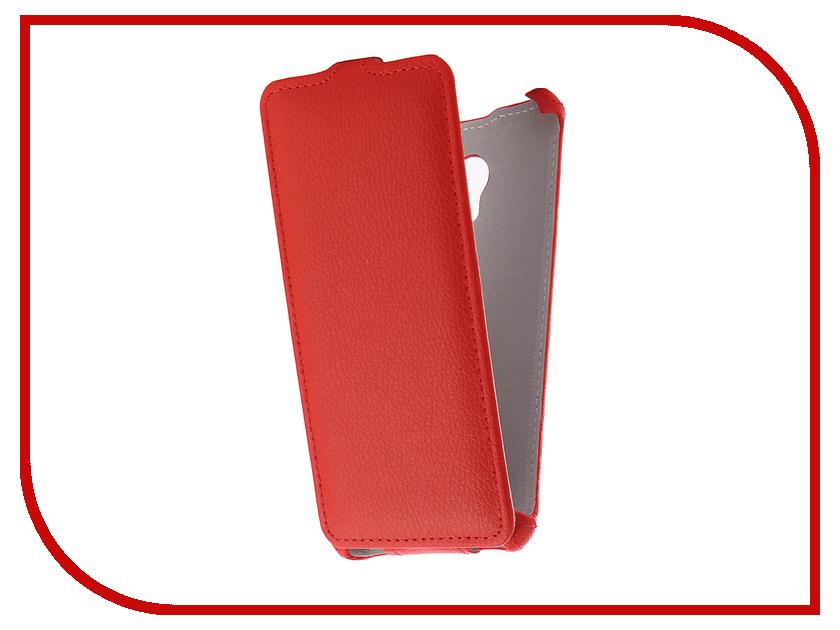 Аксессуар Чехол Meizu M5S Zibelino Classico Red ZCL-MZ-M5S-RED аксессуар чехол zte blade a310 zibelino classico zcl zte a310 blk
