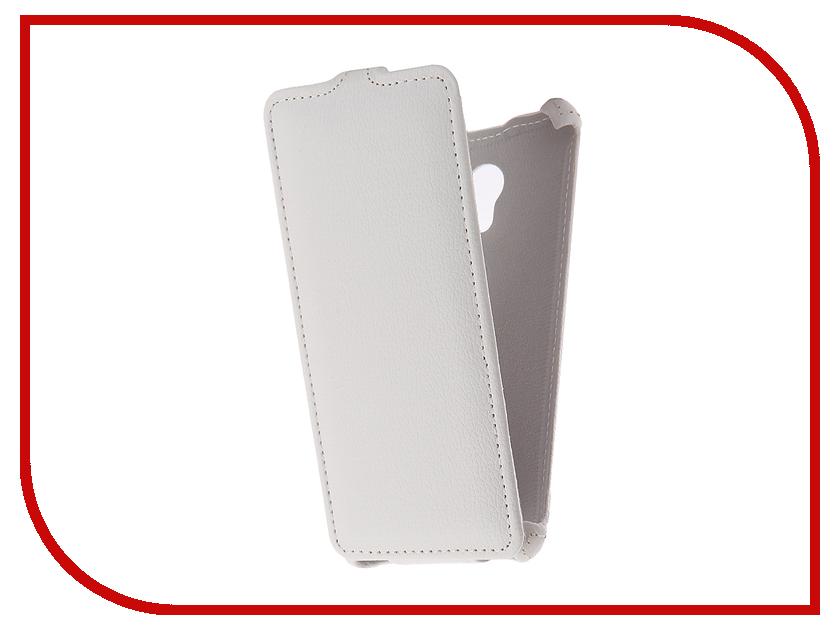 Аксессуар Чехол Meizu M5S Zibelino Classico White ZCL-MZ-M5S-WHT аксессуар чехол zte blade a310 zibelino classico zcl zte a310 blk