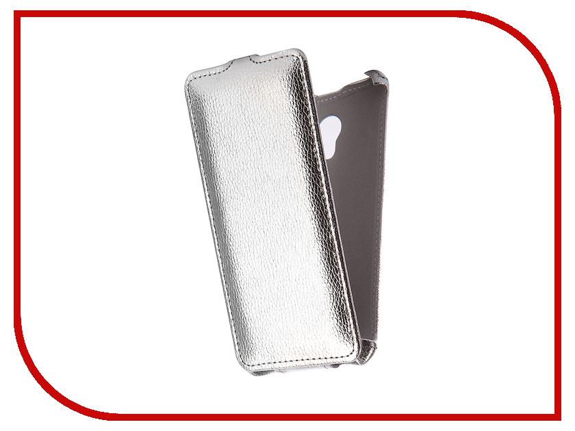 Аксессуар Чехол Meizu M5S Zibelino Classico Silver ZCL-MZ-M5S-SLV аксессуар чехол zte blade a310 zibelino classico zcl zte a310 blk