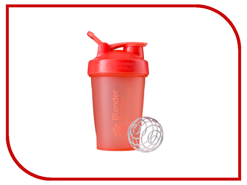 Шейкер BlenderBottle Classic Full Color 591ml Coral BB-CL20-FCOR