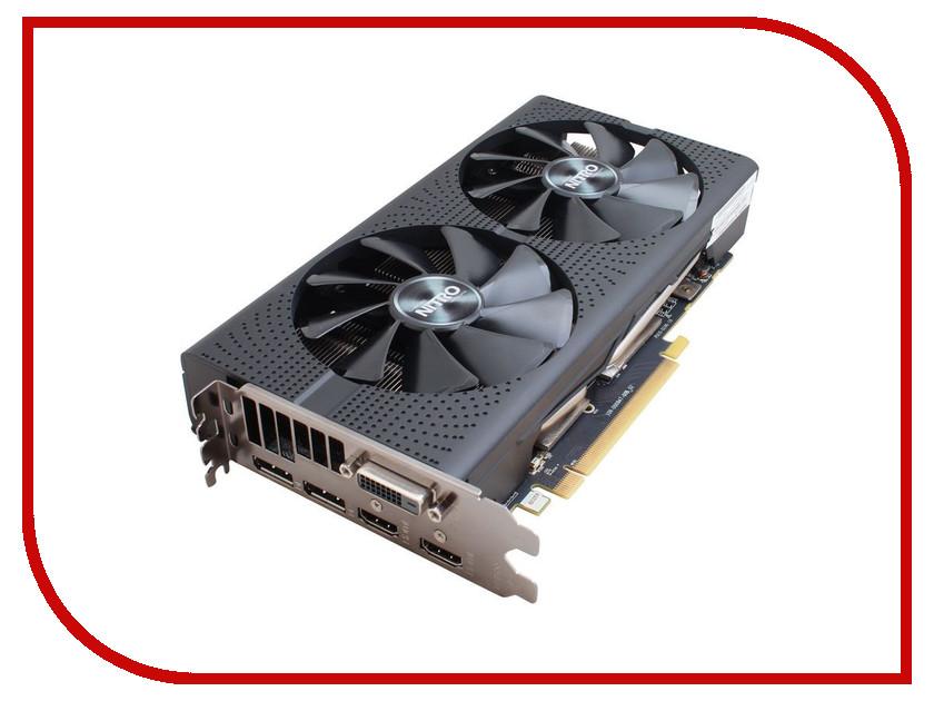Видеокарта Sapphire Nitro Radeon RX 470 4G 1140Mhz PCI-E 3.0 4096Mb 7000Mhz 256 bit DVI 2xHDMI 11256-10-20G