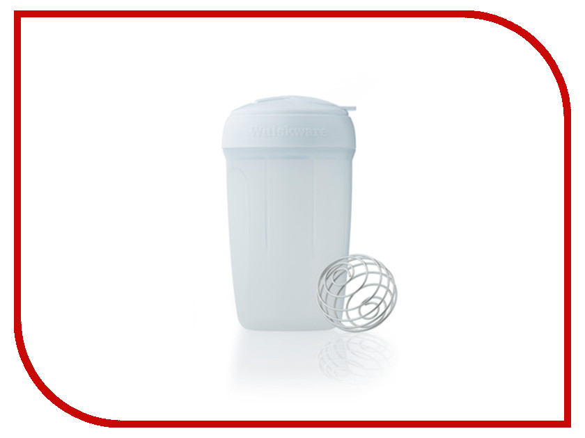 Шейкер BlenderBottle Whiskware Egg Mixer White-Red WW-EGMI-WHRE