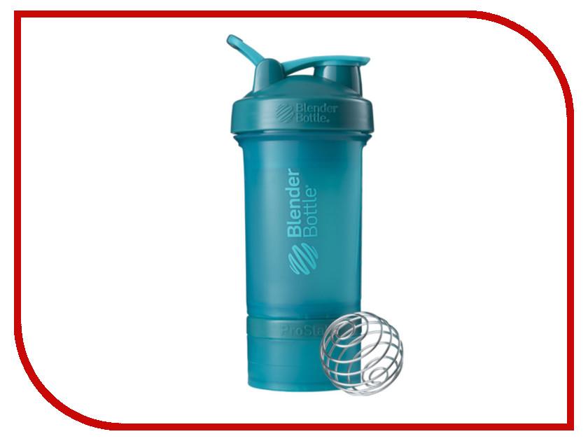 Шейкер BlenderBottle ProStak Full Color Teal BB-PRSK-FTEA шейкер blenderbottle prostak full color white bb prsk fwhi