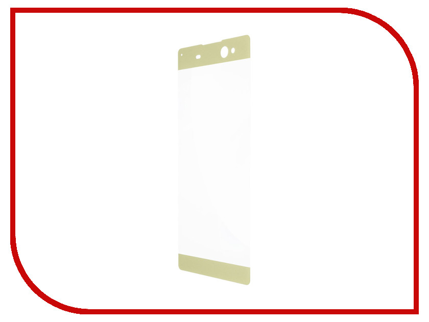 Аксессуар Защитное стекло Sony Xperia XA1 Ultra Ainy Full Screen Cover 0.33mm Gold защитное стекло ainy full screen cover 3d для sony xperia xa белое 0 2мм