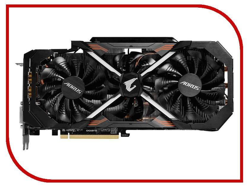 Видеокарта GigaByte GeForce GTX 1080 1759Mhz PCI-E 3.0 8192Mb 10400Mhz 256 bit DVI 3xHDMI HDCP AORUS Xtreme Edition GV-N1080AORUS X8-GD