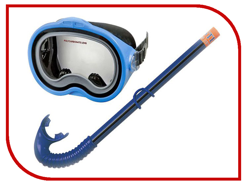 Набор маска + трубка Intex C55942 матрасы для плавания intex лодка 58394np