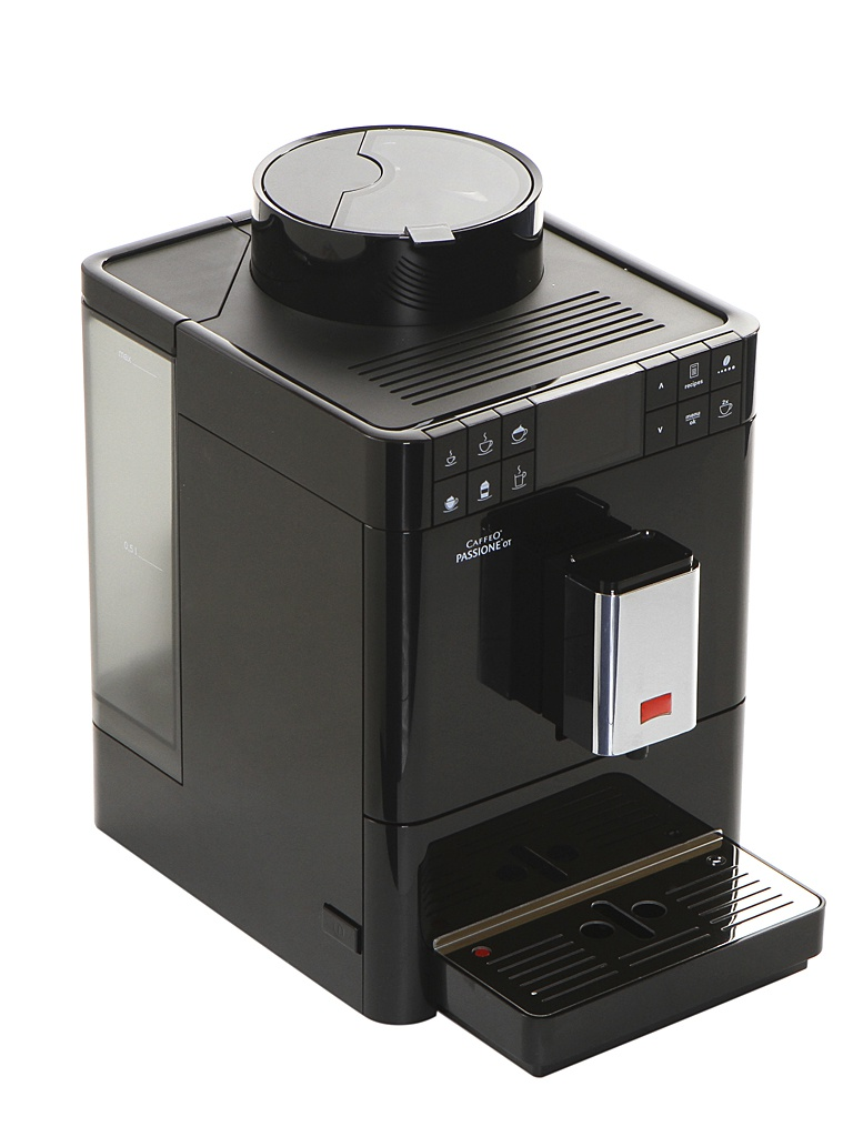 Кофемашина Melitta Caffeo Passione OT Black F 531-102 turoperatory poluchat pozhiznennye svidetelstva ot rosturizma