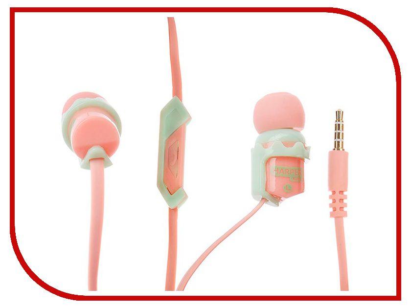 Harper KIDS HK-66 Orange аудио наушники harper наушники harper kids hk 42 white