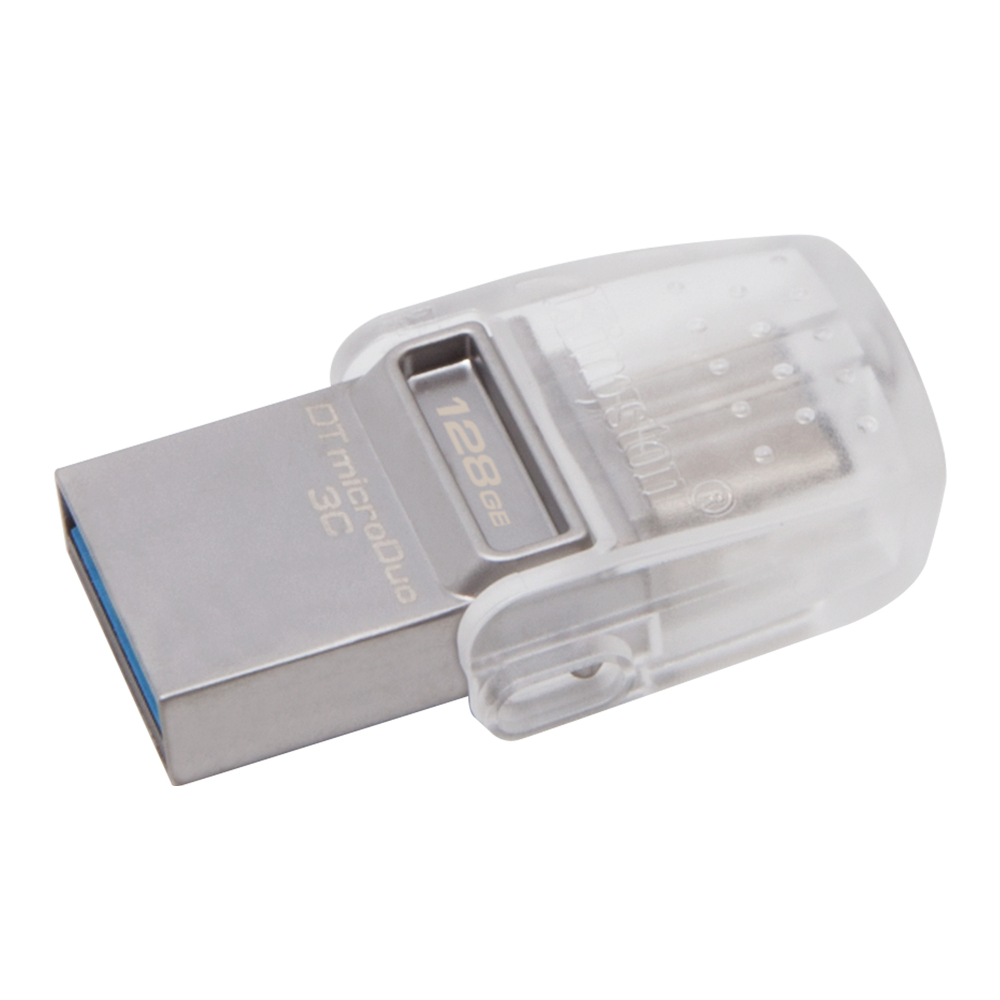 USB Flash Drive 128Gb - Kingston DataTraveler microDuo 3C DTDUO3C/128GB