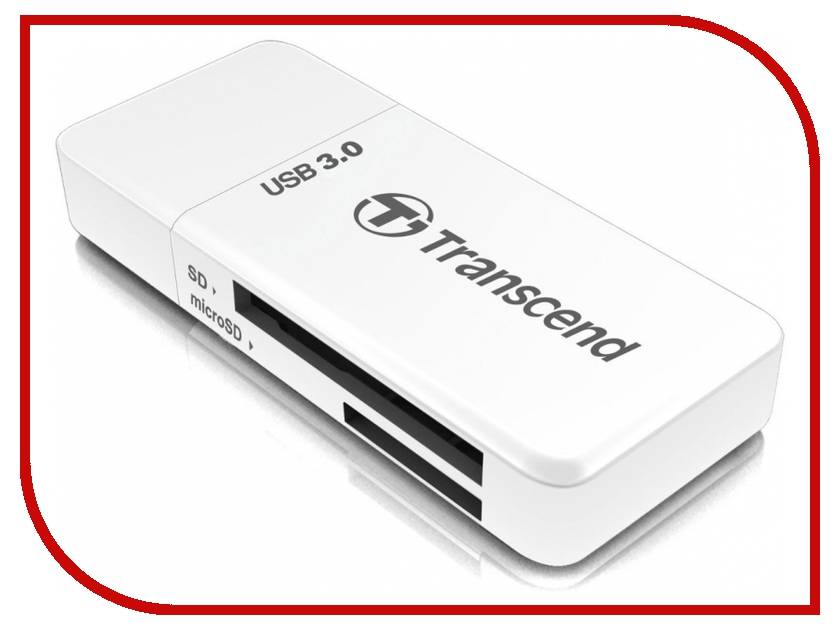 Карт-ридер Transcend Multy Card Reader USB 3.0 TS-RDF5W handhold 125khz 13 56mhz id ic rfid card copier duplicator reader write 9 frequecny compatible m4305 5200 t5577 uid