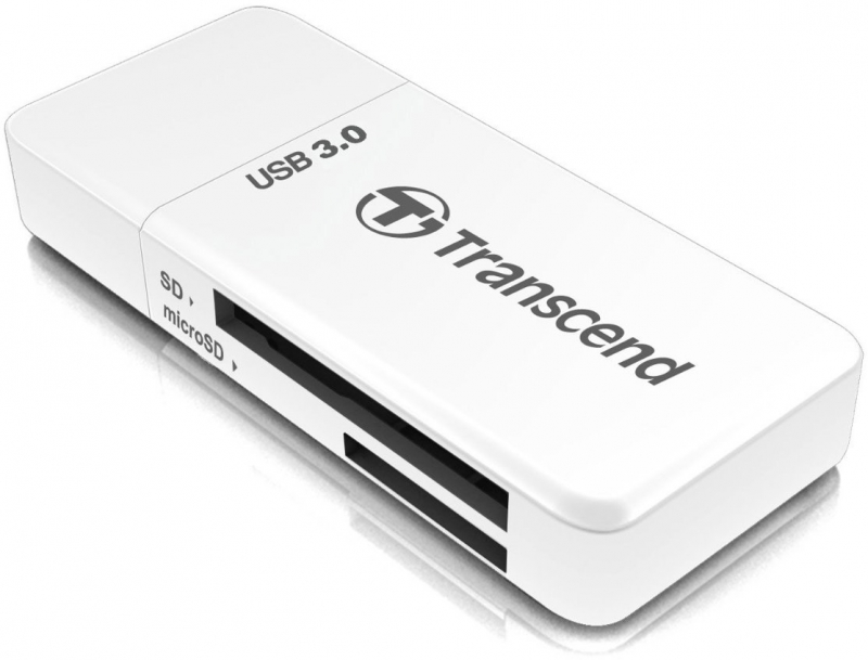 Карт-ридер Transcend Multy Card Reader USB 3.0 TS-RDF5W цена и фото